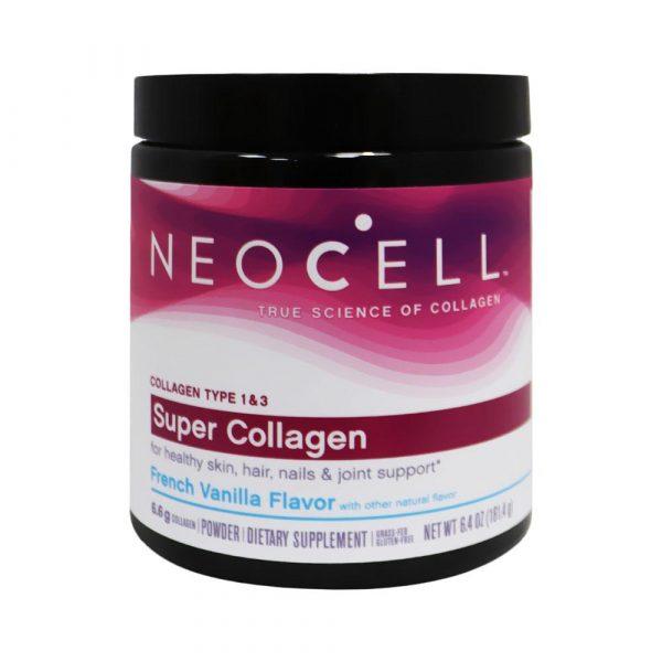 Neocell Super Collagen Powder Vannila 6.4 Oz