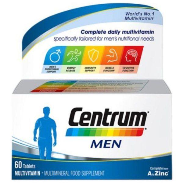 CENTRUM MEN COMPL A-ZINC TAB 60S