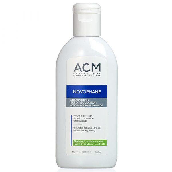Acm Novophane Sebo-Regulating Shampoo 200Ml