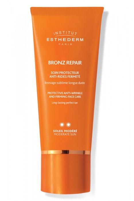 INSTITUT Esthederm Sun Bronz Repair Firming Face Care Strong Sun 50ml