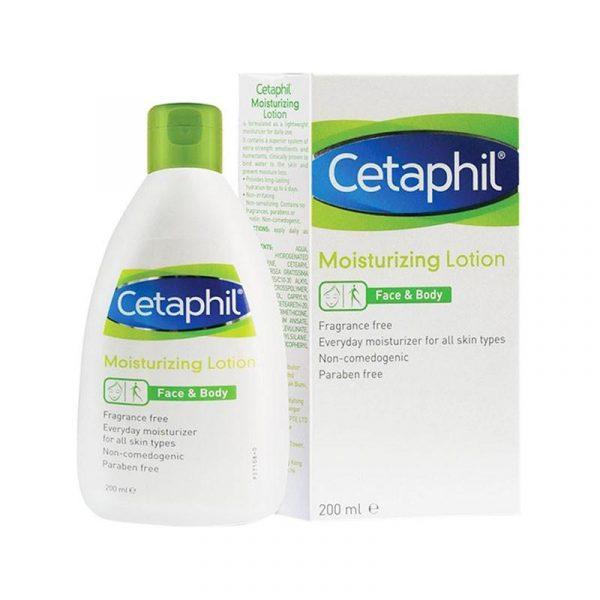 CETAPHIL MOIST LOTION 200ML