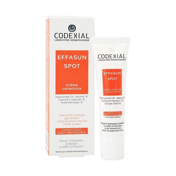 Codexial effasun depigmenting cream 30ml