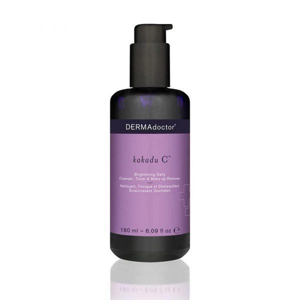 DermaDoctor Kakadu C Brightening Daily Cleanser, Toner & Make-up Remover 180ml