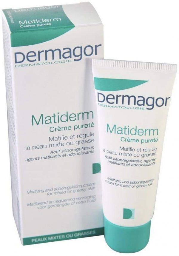 Dermagor Matiderm Matifying And Seboregulating Cream