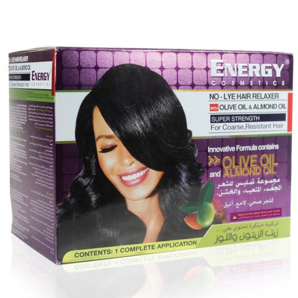 ENERGY NO LYE Hair Relaxer Kit