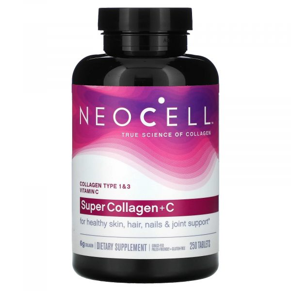 Neocell Super Collagen+C Tabs 250S