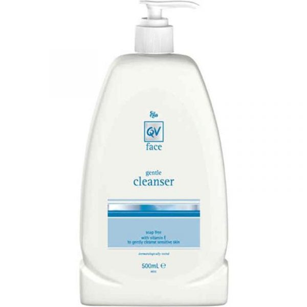 Ego QV Face Gentle Cleanser 500mL