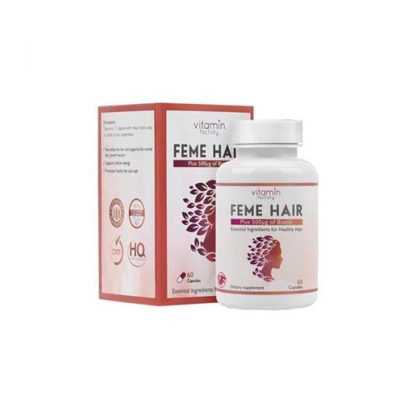 Feme Hair Vitamin Capsules 60