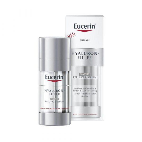 Eucerin Hyaluron Filler Nacht Peeling Serum 30ml