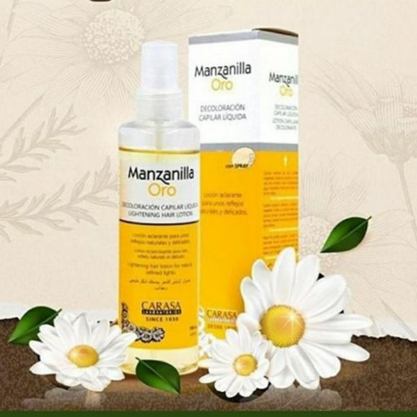 Manzanilla Oro Lightening Hair Lotion 180ml