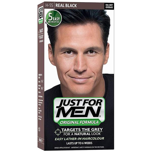 Just For Men Hair Natural Real Black
