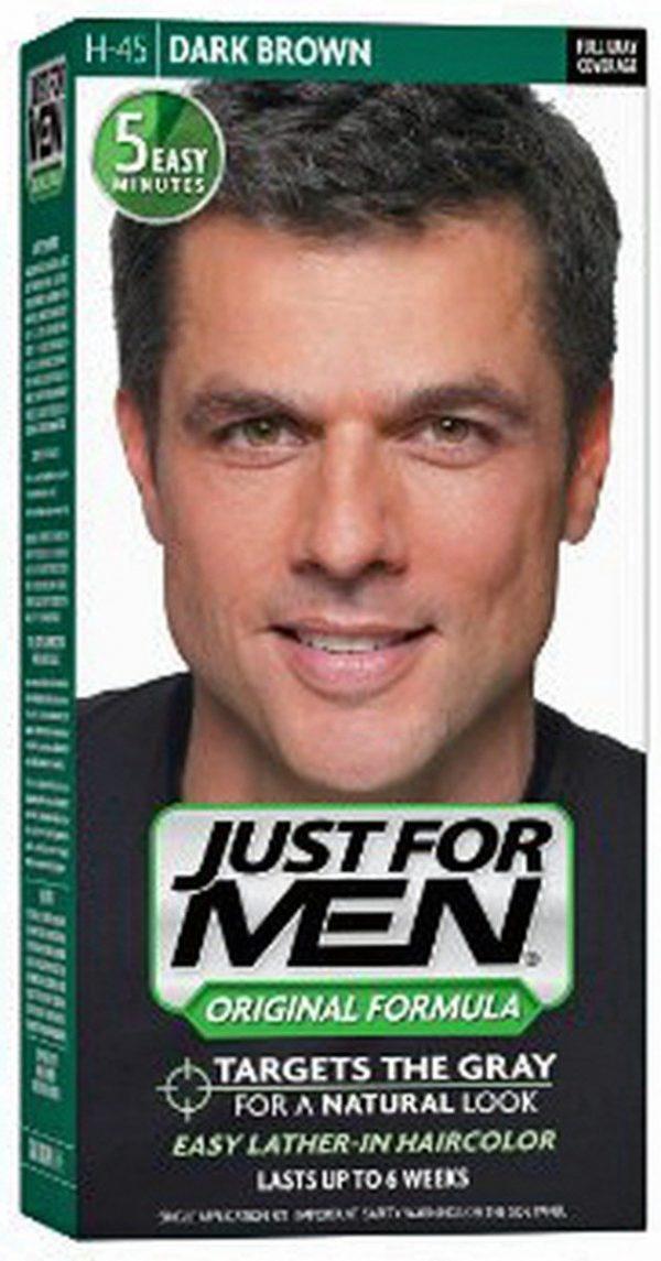 JUST FOR MEN MOS/BEA NAT DARK BRO BLACK