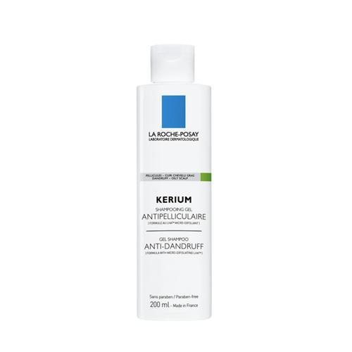 La Roche Posay Kerium Anti-Dandruff Gel Shampoo - Dry Scalp 200ml