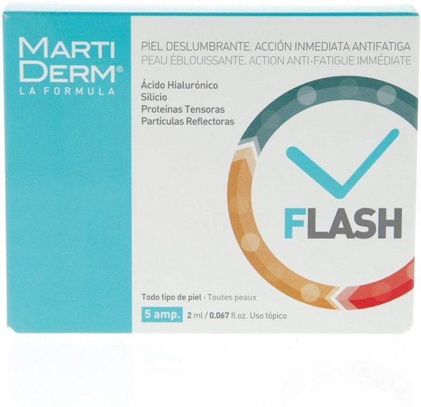 Marti Derm Flash Ampoules Anti-fatigue 5x2ml