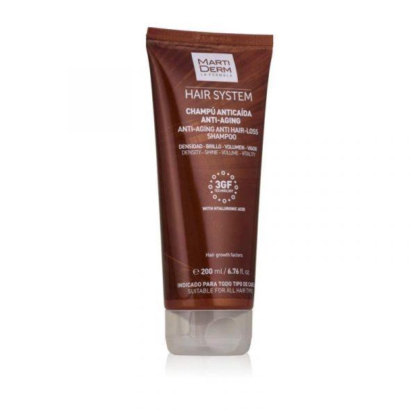 Martiderm Hair System Anti-seborrheic Hair Loss Shampoo - 200 ml