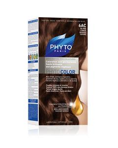 Phyto Color 6AC - Dark Coppery Mahogany Blond