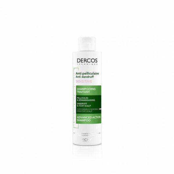Vichy Decros Anti Dandruff Shampoo For Sensitive Scalp