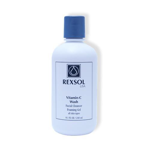 Rexsol Vitamin-C Wash Facial Cleanser, 240 ml